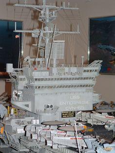 USS Enterprise CVN-65 by Gabriel Suranyi