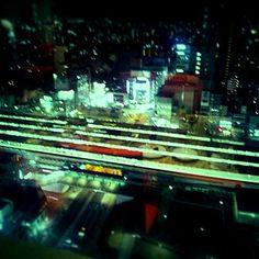 Kenichi Kamio - The 20F Nakano sun plaza from Today's piano piece   Mar.30th,2015  「中野サンプラザ20階」 20階のレストランより。 息子の進学祝い。おめでとう
