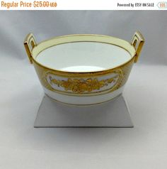 SUMMERSALE25 Vintage Noritake Serving Dish  Gift Idea by Pastfinds