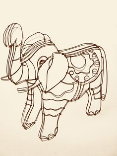 Garage Sale: concept and wire drawings by joel armstrong, via Behance