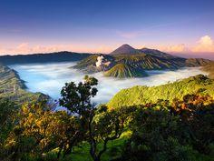 WOW!!!! Beautiful!!! Bromo Tengger Semeru National Park, East Java, Indonesia