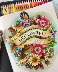 Droomreis, vivi soker en van, Maria trolle coloring book