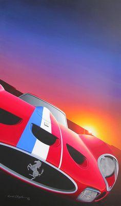 David Chapple - AutoArt Awesome car art!