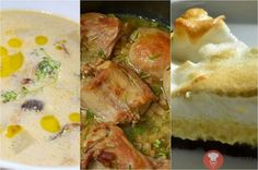 Tip na nedeľný obed| Hubová polievka, králik na cibuľke & Citrónová roláda so snehovou čapicou