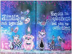 Animals Are Your Best Friend by Miranda van den Bosch | www.rangerink.com