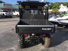 New 2016 Bad Boy Off Road Recoil iS Crew Realtree Xtra ATVs For Sale in Florida. 2016 Bad Boy Off Road Recoil iS Crew Realtree Xtra, $0 down $215 per month WAC*<br /> <br /> Loaded! Brand new Full warranty & nearly every factory option including:<br>On-Board Charger<br>Winch<br>Fold down windshield <br>Hard top<br><br>Several Available with diverse configurations.<br>Own for as low as $0 down $215 per month with approved credit.<br><br>Riva Motorsports & Marine of the Keys<br>Financing…