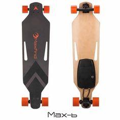 New 2018 Maxfind Board Hub Motor Wheels Electric Skateboard Longboard with Remote Control Max B Inch) Skates Penny, Long Boarding, Electric Skateboard, Look Good Feel Good, Skateboard Decks, Motorized Skateboard, Skateboard Bearings, Skateboard Design, Skateboards