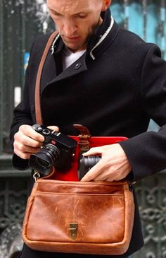 The Bowery for Leica Camera. ONA bags | Premium hand-crafted camera bags.