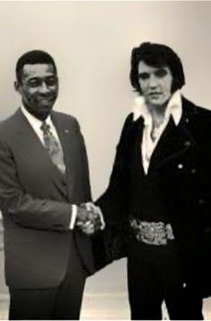 Sir PELÉ, THE KING OF FOOTBALL: O Rei e Elvis Presley