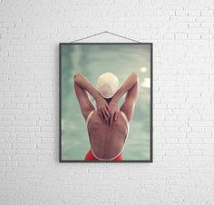 Fine Art Photography Figurative Swimming   MidCentury Swimming Pool Figurative Fine Art Photography