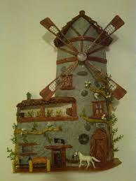 Resultado de imagen para teja decorada en relieve