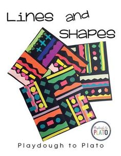 Lines and Shapes - Playdough To Plato