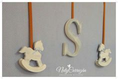 Sweet Rocking Horse-Baby Shower | CatchMyParty.com