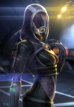Tali, I know you're an alien and not real... But you're the only woman in this galaxy for me. (Tali'Zorah by ~brinx2)