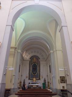 Iglesia de San Sebastián. Capilla del Sagrado Corazón , en el lado de la epístola. Fue realizada por Antonio Sillero, el primitivo arquitecto de esta iglesia