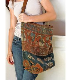 Carpet Bag Jess Wrobel · Sustainable and Vintage Design and Decor