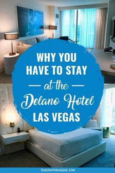 Planning for Las Vegas Vacation? Check out Delano Hotel Las Vegas - one of the best Las Vegas Hotels. best hotel tips, hotel hacks, luxurious interior, beautiful vacations, affordable vacations. Best Las Vegas Hotels, Las Vegas Vacation, Need A Vacation, Best Hotels, Family Vacation Destinations, Vacation Trips, Travel Destinations, Vacation Ideas, Delano Hotel