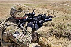 Over watch security by The U.S. Army, via Flickr
