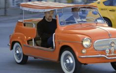 Philadelphia: Louis C.K. and Jerry Seinfeld drive a 1959 Fiat Jolly | Comedians in Cars Getting Coffee