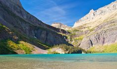 On today's Road Scholar hike, we stopped for lunch at Grinnell Lake. Man oh man, what a view! #Montana
