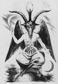 BAPHOMET #angels & demons, #dark arts