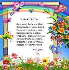 Imagini pentru clasa pregatitoare florile zambitoare