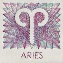 horoscope embroidery for SPUR. Aries Horoscope, Aries Zodiac, My Zodiac Sign, Hand Embroidery Patterns Free, Embroidery Art, Aries Personality Traits, All About Aries, Aries Baby, Spikes