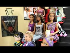 How to Make a Doll Theatre - YouTube (My Froggy Stuff)  Really good tutorial