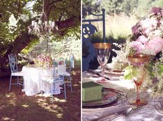 Throwing a wedding in your backyard (or in the backyard of a friend or family member) gives you a cozy and familiar setting to showcase your personal style. Wedding Trends, Wedding Blog, Wedding Ideas, Reception Decorations, Event Decor, Jewelry Wall, Real Weddings, Backyard Weddings, Romantic Flowers