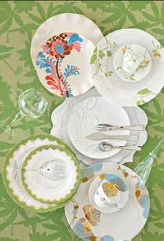 china place setting from veranda magazine