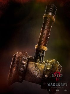 Warcraft  Movie Poster V6 24 x 32 #Handmade #PopArt