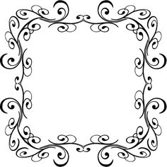 Flowers Clip Art Black And White Border Home Redesign Clip Arts