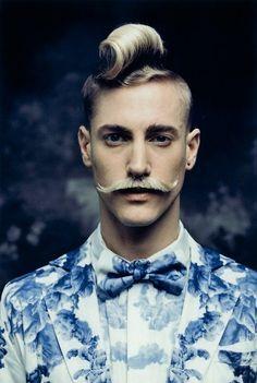 Moustache / http://www.facebook.com/pages/Creative-Boys-Club/574340755933728?ref=hl