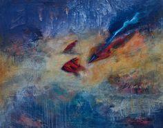 CompArte cada día: Rufina Santana  Deep // acrilico sobre lienzo // 73 x 92 cms.