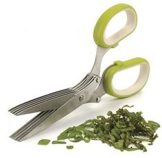 Kitchen Craft Herb Scissors seen on Yuppie Chef Kitchen Tools, Kitchen Craft, Kitchen Stuff, Kitchen Ideas, Crazy Kitchen, Kitchen Confidential, Great Gifts For Mom, Shop Till You Drop, Cooking Tools