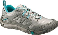 Perfect for all your outdoor activities, this rugged sneaker features Strobel construction and has a Merrell Stratafuse™ fabric upper that provides a glove like fit for lightweight durability and natural movement. The bellows tongue keeps debris out and the breathable mesh upper and the EVA rem