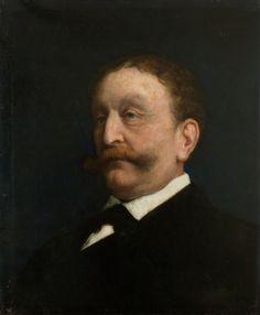 Jules Elie DELAUNAY Portrait de Monsieur Dreyfus (ou Ulmann),1885