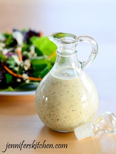 Creamy Italian Salad Dressing made richer with cashews and lots of spices!