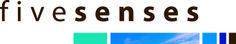 Logo design Fivesenses blue