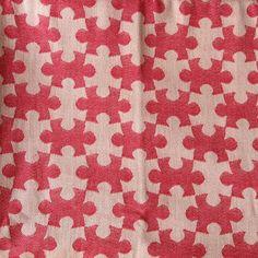 DAIESU Jigsaw Raspberry Woven Wrap (organic cotton)