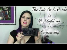 cruelty free beauty, alternative fashion, lifestyle, eyeshadow, how to |The Pale Girl's Guide to Highlighting and Contouring | Phyrra - Beauty for the Bold
