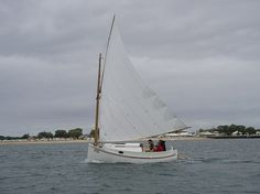 Fenwick Williams Catboat More Pictures JPG - Michael Storer Boat Design