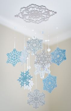 I like the crystals and the large snowflake from which it hangs. @vivitron81