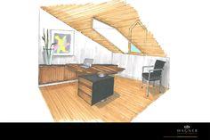 Arbeitszimmer Outdoor Furniture, Outdoor Decor, Sun Lounger, Modern, Home Decor, Neuschwanstein Castle, Living Dining Rooms, New Construction, Interior