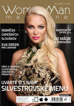 Vydanie časopisu WomanMan magazine Zima/Winter 2014
