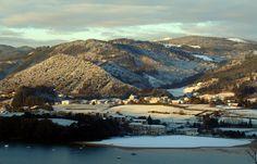 Insólita nevada en Urdaibai