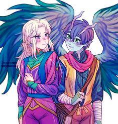 the dragon prince fanart Prince Dragon, Dragon Princess, Draw The Otp, Rayla X Callum, Arte Disney, Fanart, Film Serie, Dragon Art, Avatar The Last Airbender