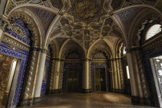 Sumptuous Abandoned Castel Photography