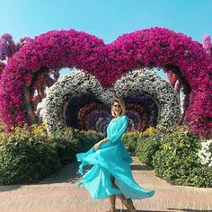 """a6791be5fce Carol Tognon on Instagram  """"Primeira parada de hoje foi no """"MIRACLE  GARDEN"""""""