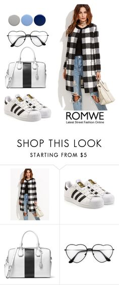 """""""Untitled #21"""" by beautyflowers-i ❤ liked on Polyvore featuring adidas Originals, MICHAEL Michael Kors and Burberry"""